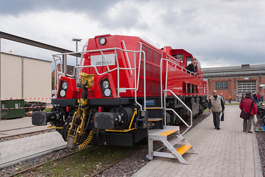 260 506 (northrail) bei der 150 Jahr Feier Ausbesserungswerk Neumünster.