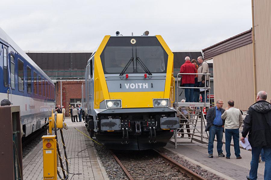 263 004 bei der 150 Jahr Feier Ausbesserungswerk Neumünster.