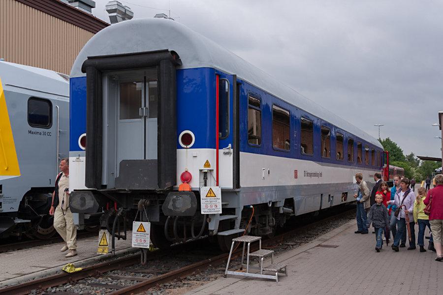 61 80 99-90 070-5 bei der 150 Jahr Feier Ausbesserungswerk Neumünster.