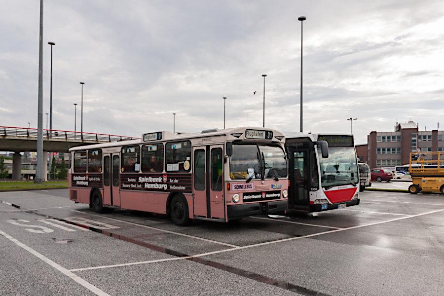 HOV 6416 (ex HHA 6416) auf dem alten Überliegebereich am Flughafen Fuhlsbüttel.