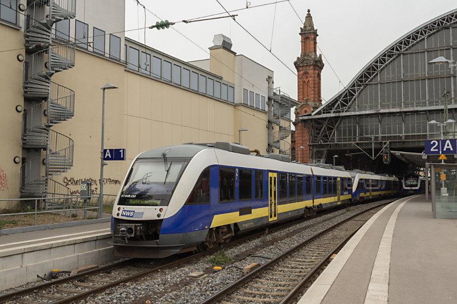 648 293 in Bremen Hauptbahnhof.