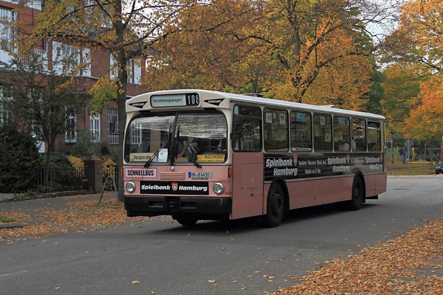 HOV 6416 in der Geffckenstraße beim 12. VHT.