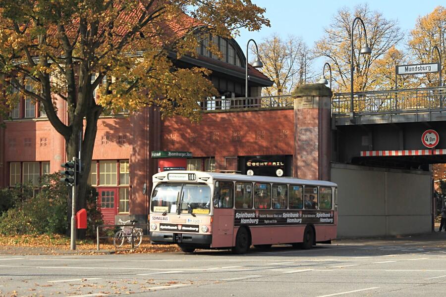 HOV 6416 am U-Bahnhof Mundsburg beim 12. VHT.