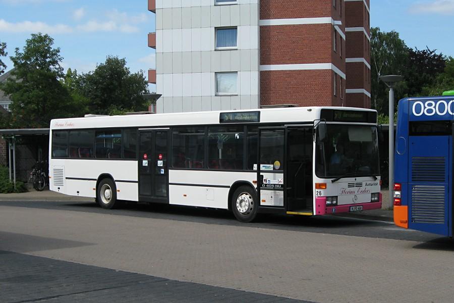 Wagen 26 (MB O 405 NÜ) von Florian Enders auf der Busanlage Ahlem.