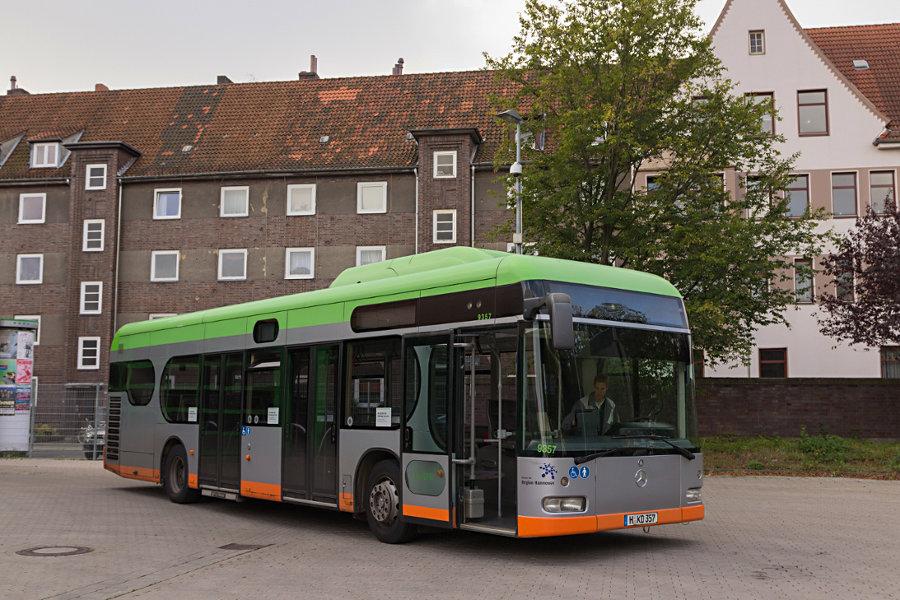 üstra 9357 auf dem üstra-Betriebshof Vahrenwald.