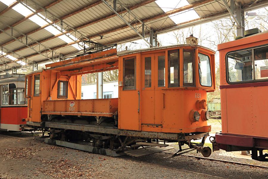 AT 6131 (ex Wien) im Hannoverschen Straßenbahn-Museum Wehmingen.