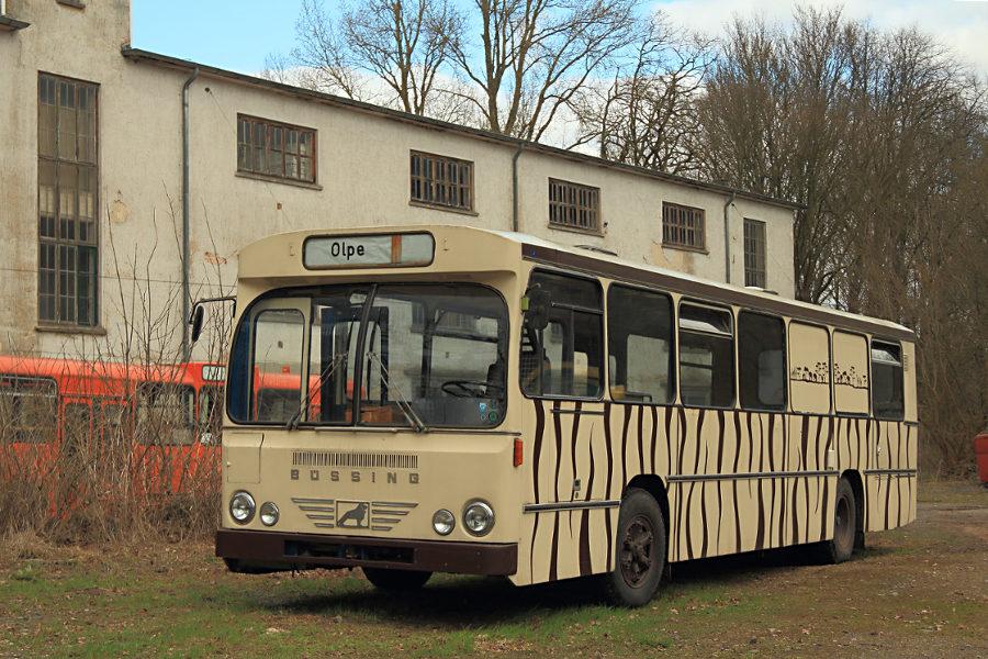 Ein Büssing im Hannoverschen Straßenbahn-Museum Wehmingen.