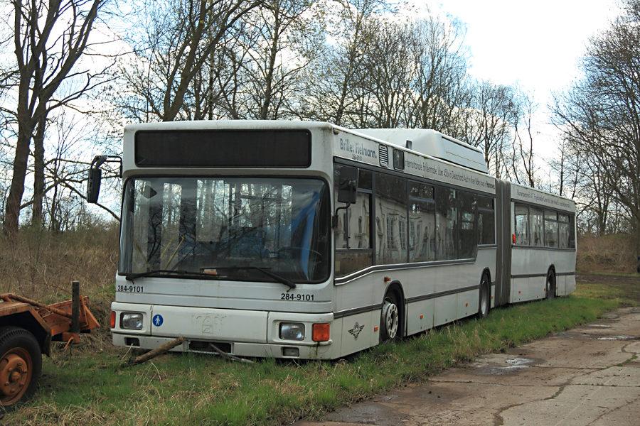 Ex Hartmann 284-9101 im Hannoverschen Straßenbahn-Museum Wehmingen.