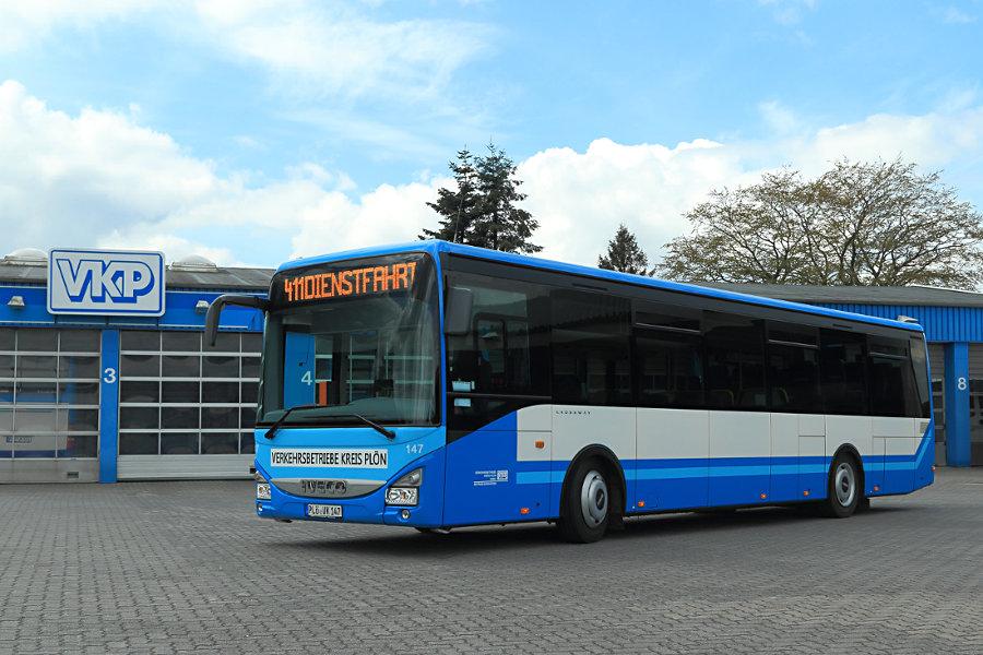 VKP 147 auf dem Betriebshof Bornhöved.