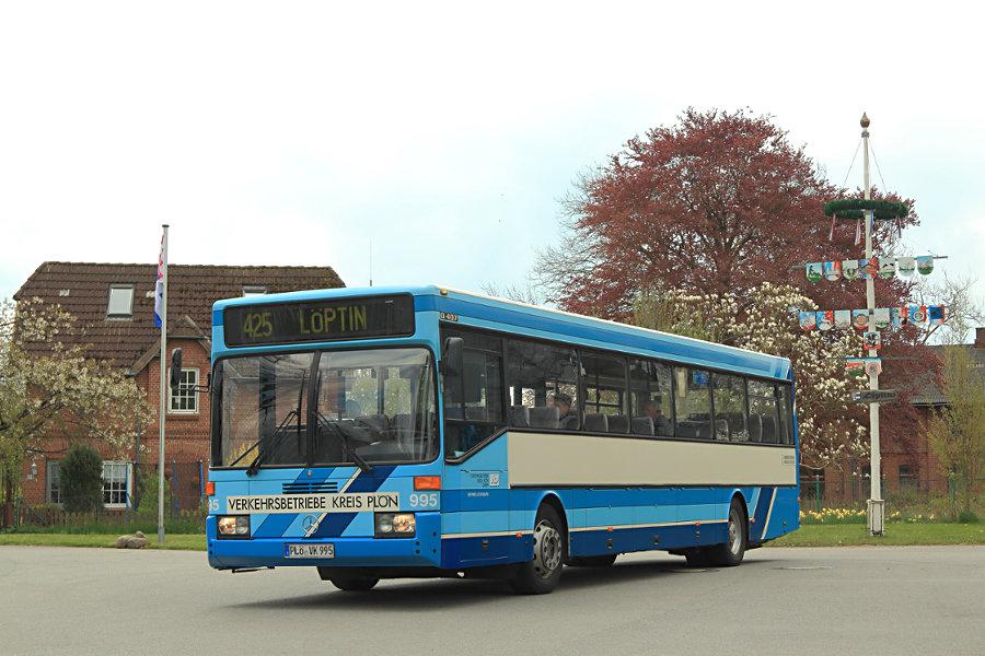VKP 995 auf Sonderfahrt.