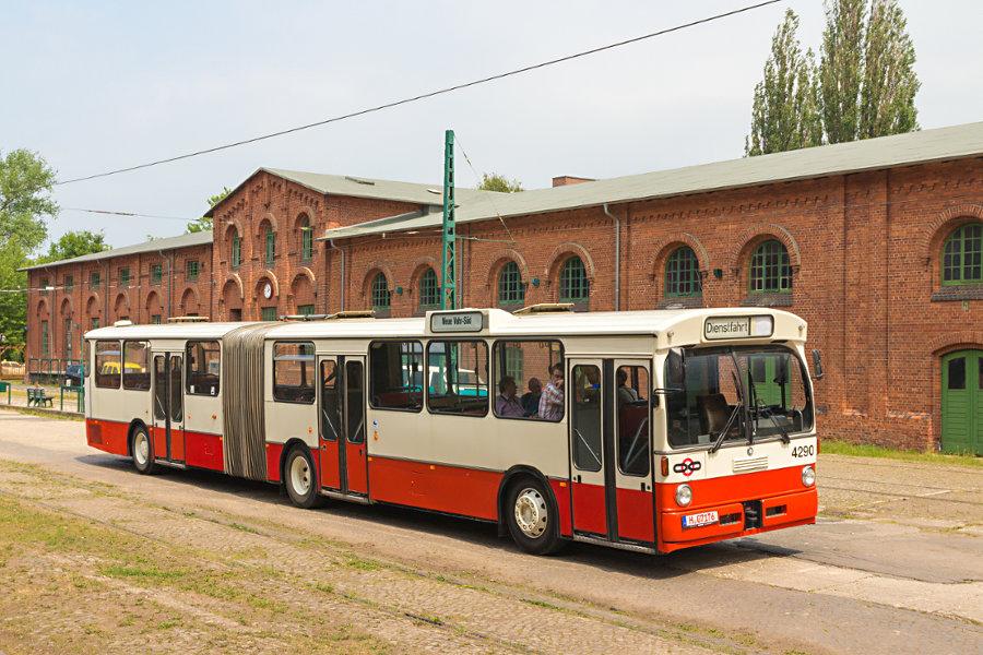 Ex BSAG 4290 im Hannoverschen Straßenbahn-Museum Wehmingen.